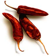 Dried chilli